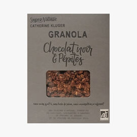 Granola with cooked and raw chocolate SuperNature Catherine Kluger