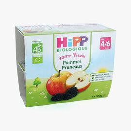 Fruit pots for babies: apple-prune HiPP