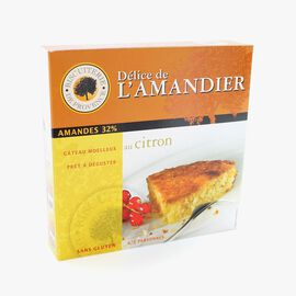 Gluten-free almond and lemon cake  Biscuiterie de Provence