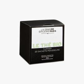 Organic Yunnan tea – 20 muslin teabags La Grande Épicerie de Paris