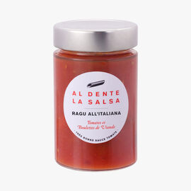 Ragu all'Italiana, tomatoes and meatballs AL DENTE LA SALSA