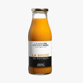 Pumpkin soup La Grande Épicerie de Paris