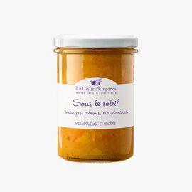 Orange, lemon and mandarin fruit mix – 'Sous le soleil'  La Cour d'Orgères