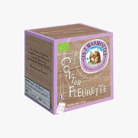 Conter fleurette infusion  Les 2 Marmottes