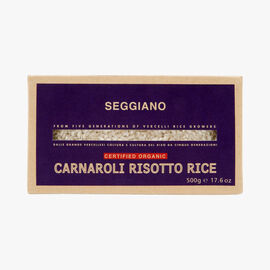 Organic Carnaroli rice for risotto Seggiano