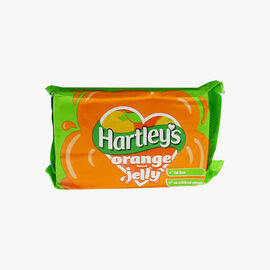 Bar of 12 orange-flavoured jelly cubes Hartley's