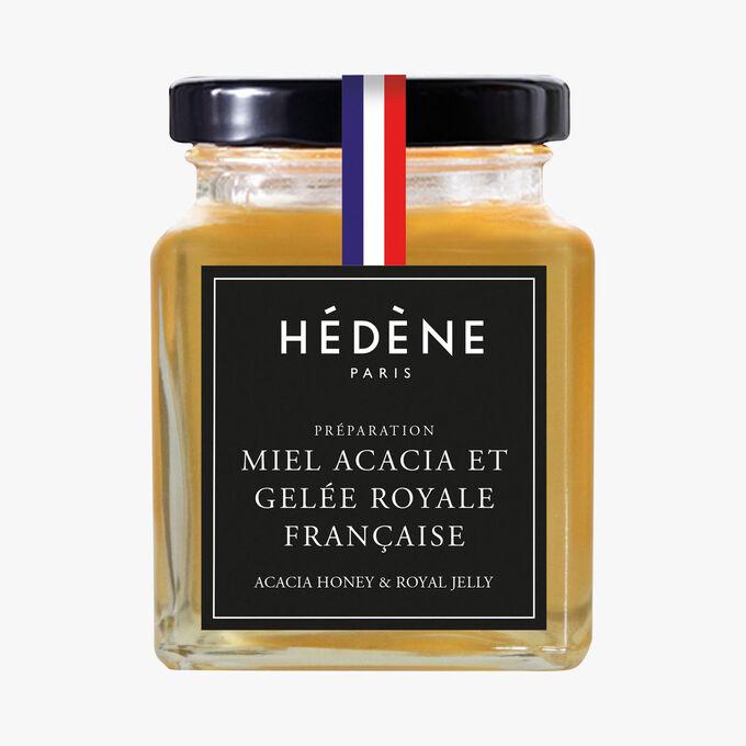 Acacia honey with French royal jelly Hédène