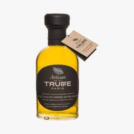 Extra virgin olive oil with black truffle flavour Artisan de la truffe