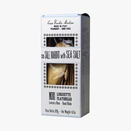 Mini flatbreads with sea salt Casa Vecchio Mulino