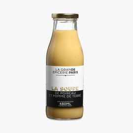 Leek and potato soup La Grande Épicerie de Paris