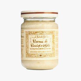 Artichoke and garlic cream sauce La Favorita