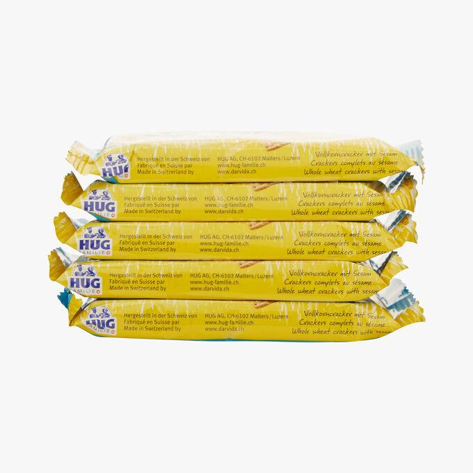 Whole wheat crackers with sesame Dar-Vida