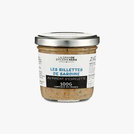 Sardine rillettes with Espelette chili La Grande Épicerie de Paris