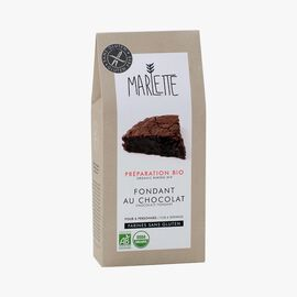 Organic mix for gluten-free chocolate fondant Marlette