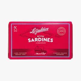Small sardines in olive oil La Guildive