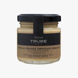 Parmesan cream sauce with summer truffle Artisan de la truffe