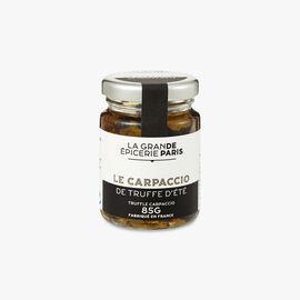 Summer truffle carpaccio (Tuber Aestivum) La Grande Épicerie de Paris
