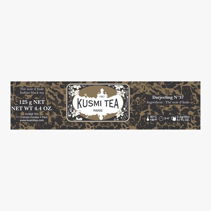 Darjeeling N°37 metal tin Kusmi Tea