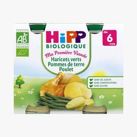 Green beans, potatoes and chicken HiPP