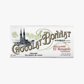 Hacienda El Rosario chocolate  Bonnat
