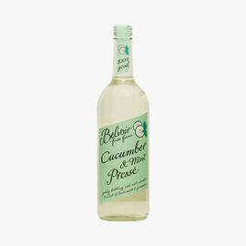 Cucumber and pressed mint lemonade Belvoir