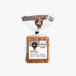 Rye and spelt bran bread Sigdal Bakeri