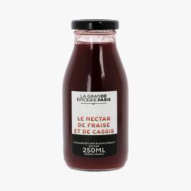 Strawberry and blackcurrant nectar La Grande Épicerie de Paris