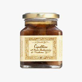 """Small onions pickled in """"Modena balsamic vinegar"""" La Favorita"""