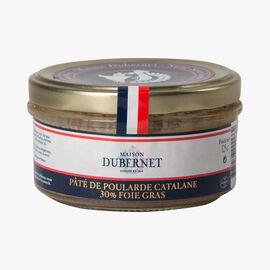 Catalan chicken pâté, 30% foie gras Maison Dubernet