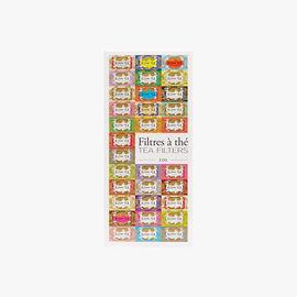 100 paper tea filters Kusmi Tea