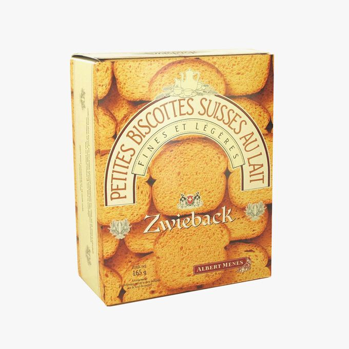 Zwieback Swiss mini milk rusks Albert Ménès