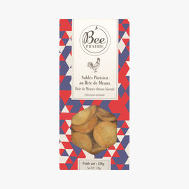 Brie de Meaux cheese biscuits  Bee Prairie