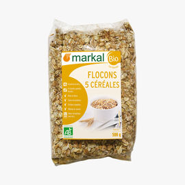 Mix of 5 cereal flakes Markal
