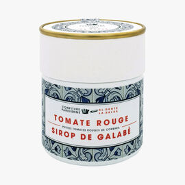 Red tomato, galabé syrup Confiture Parisienne