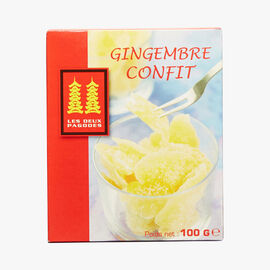 Candied ginger Les Deux Pagodes