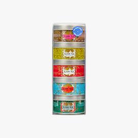 Assortment of 5 Afternoon Tea mini tins  Kusmi Tea