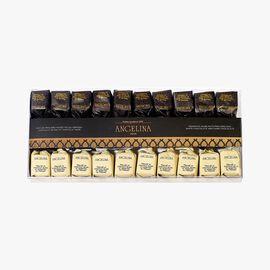 Mixed Piedmont hazelnut pralines, white and dark chocolate Angelina