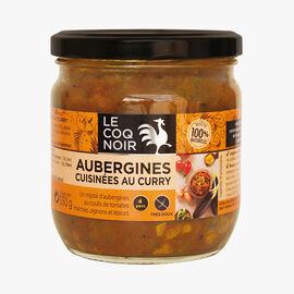 Aubergine curry Le Coq Noir
