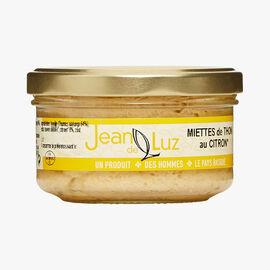 Tuna flakes with lemon Jean De Luz