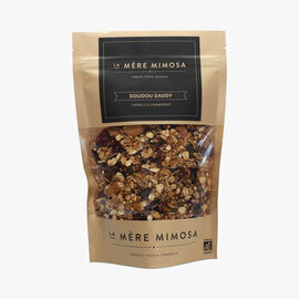 Doudou Daddy cinnamon and cranberry granola La Mère Mimosa
