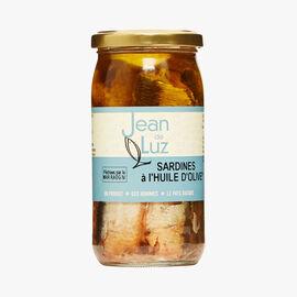 Sardines in olive oil Jean De Luz