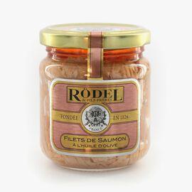 Salmon fillets in olive oil Rödel