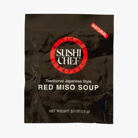 Red Miso soup Sushi Chef