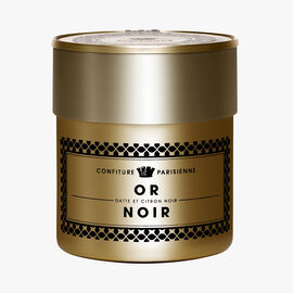 Or Noir, date and black lemon Confiture Parisienne