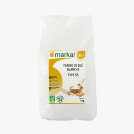 Type 55 white wheat flour Markal