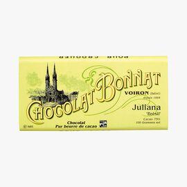 Juliana chocolate Bonnat