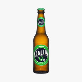 Lager malted blond beer  Gallia Paris