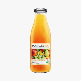 Organic yellow fruit cocktail Marcel Bio