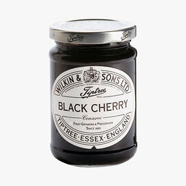 Black cherry extra jam Wilkin & Sons