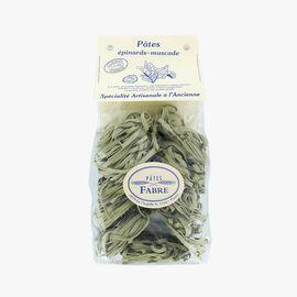 Spinach tagliatelle Pâtes Fabre